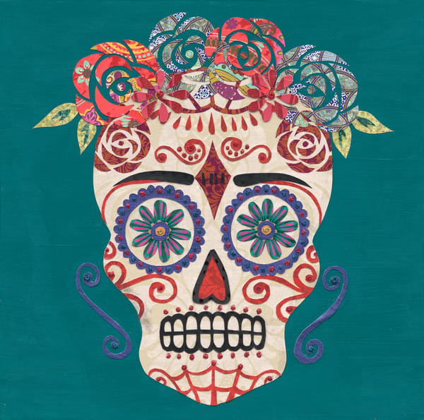 Frida's Sugar Skull, By Kristi Abbott | Made by Kristi