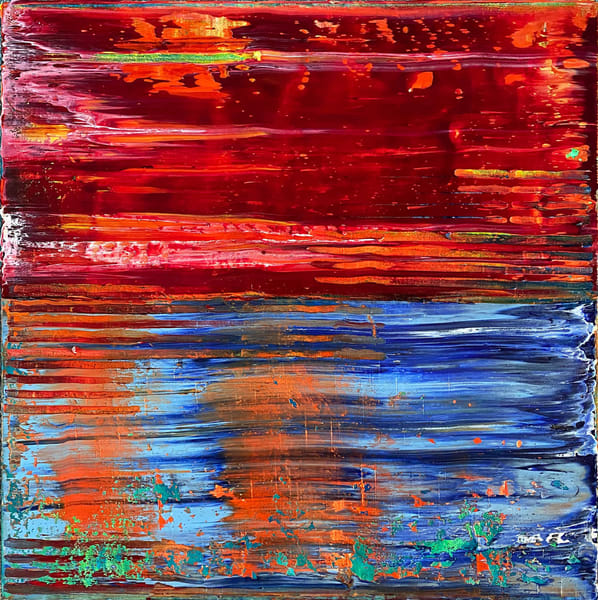 In This Together abstract painting