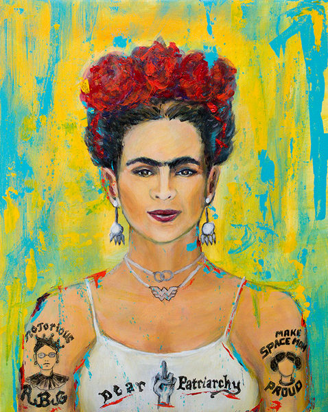 Frida, by linda clayton by madebykristi