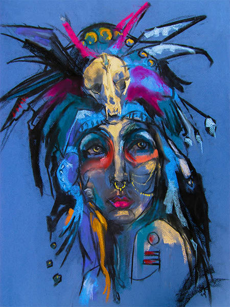 Blue #2 Art   RPAC Gallery