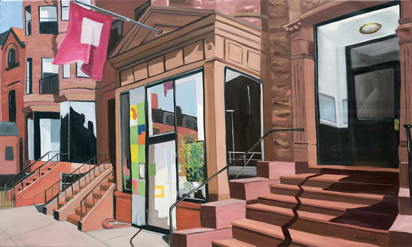 Newbury Street Society by Paul William | Fine Art for Sale