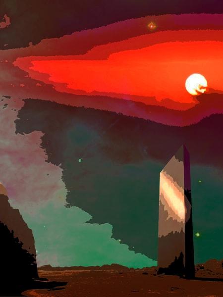 Space Fantasy Art - Planetary Portal - Don White Art Dreamer