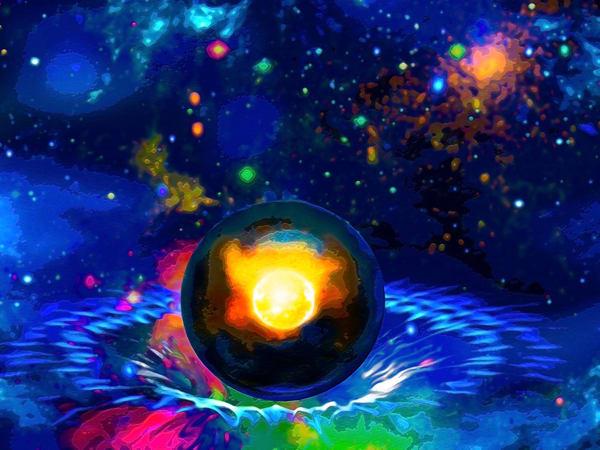 Space Fantasy Art - Spacetime - Don White Art Dreamer