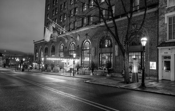 Evening at Hotel Bethlehem Michael Sandy
