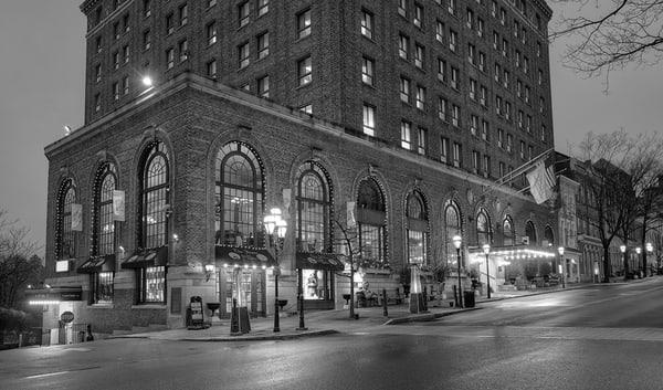 Evening at Hotel Bethlehem - Michael Sandy
