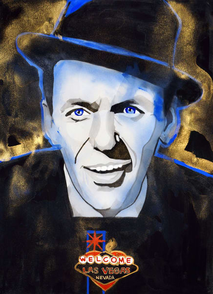 Frank Sinatra Art | William K. Stidham - heART Art