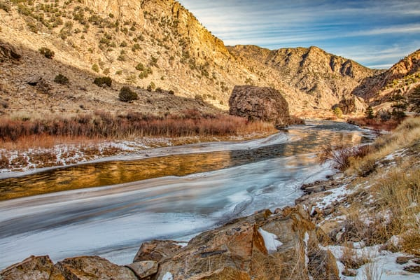 Arkansas River 3283   Photography Art | Koral Martin Healthcare Art