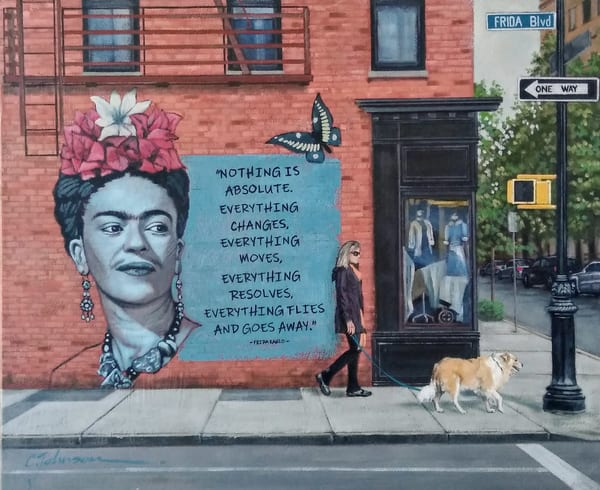 Frida Blvd, By Coreen Johnson | Made by Kristi