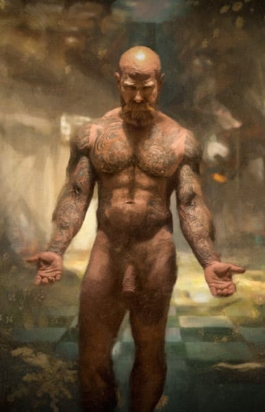 Way of the peaceful warrior, Uncensored, The Younger man, Ben Fink art prints, photo