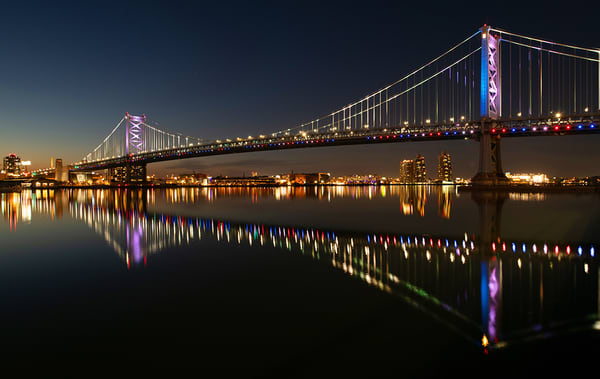 Ben Franklin Bridge 2020 - Michael Sandy Photography