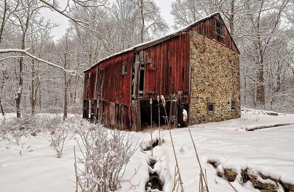 Winter on Pine Creek - Michael Sandy Photography
