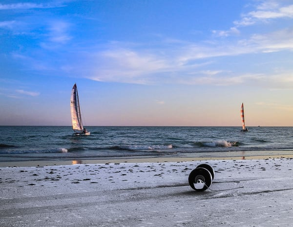Sails At Sunset Photography Art | It's Your World - Enjoy!