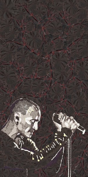 Chester Bennington (Linkin Park) Art   smacartist