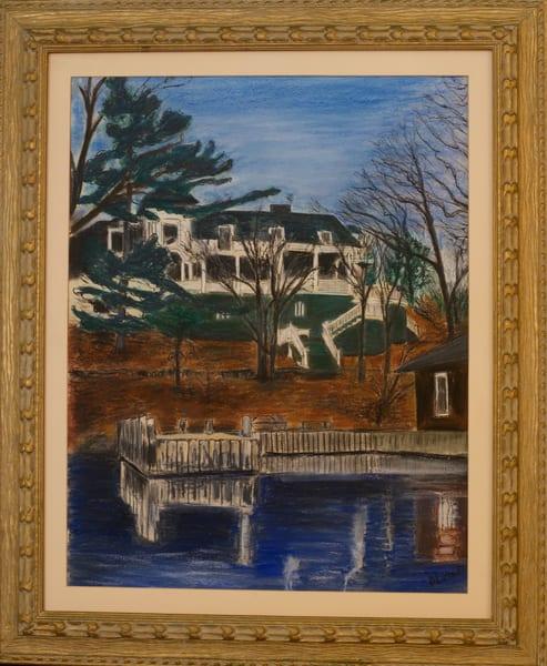 'murray Is. House' 1000 Islands, Ny Art | Cera Arts