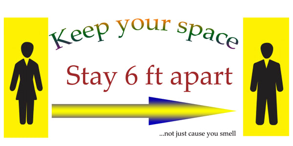Keep Your Space 6x12 Sign Uv Metal | Monterey Bay Photo Lab