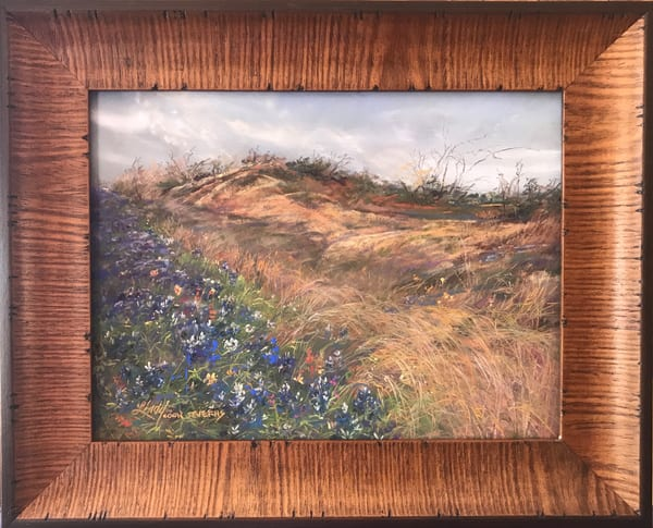 Lindy Cook Severns Art | Early Blues, original pastel