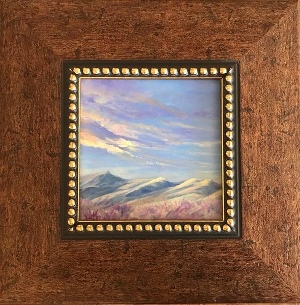 Lindy Cook Severns Art | Songs of Sage at Sunrise, original oil