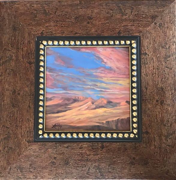 Sunglow Original Oil Art by Lindy Cook Severns Art