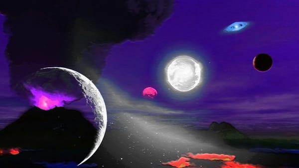 Space Fantasy Art - Astral Visions - Don White Art Dreamer