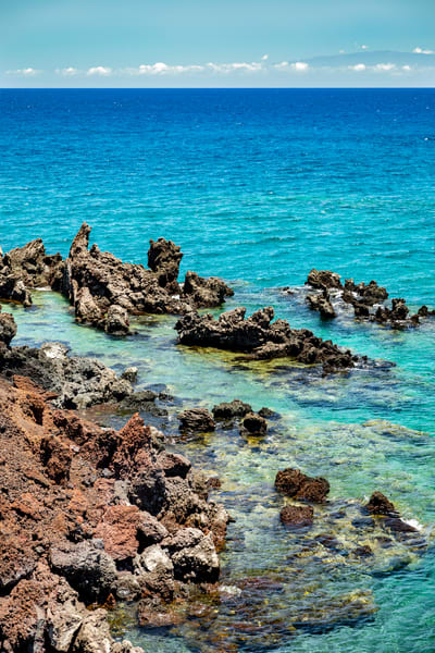 Mauna Lani Blues Photography Art | Michael Scott Adams Photography