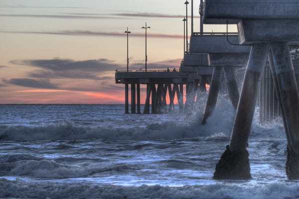 South Of Venice Pier Photography Art | Michael Scott Adams Photography