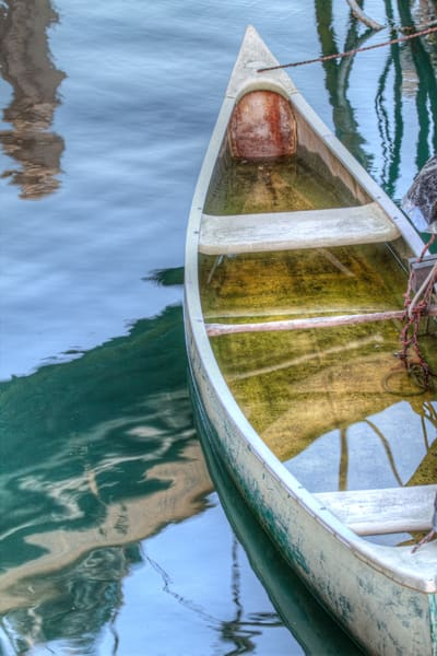Santa Barbara Canoe Photography Art | Michael Scott Adams Photography