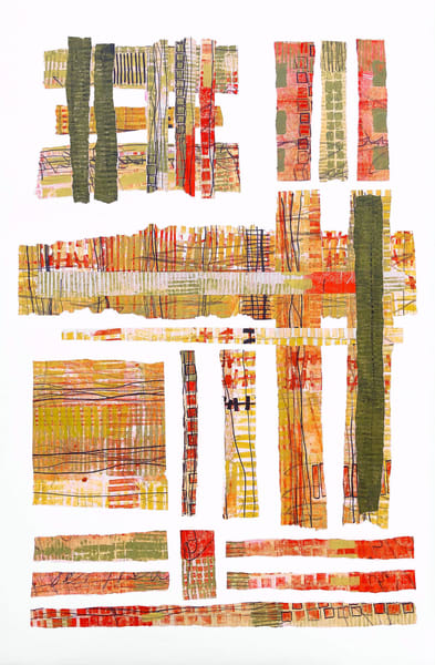 Summers in the City - Abstract Painting | Cynthia Coldren Fine Art