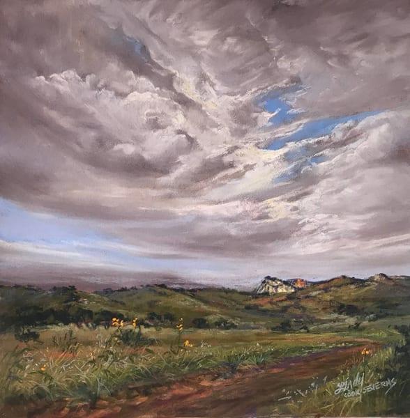 Lindy Cook Severns Art | White Mountain, original pastel
