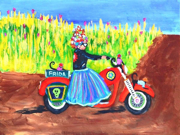 Frida Rides On, by Sue Mooney