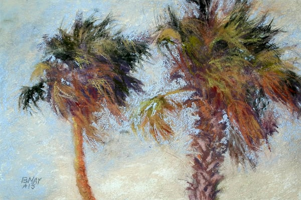 Palm Pals, From an Original Oil Painting