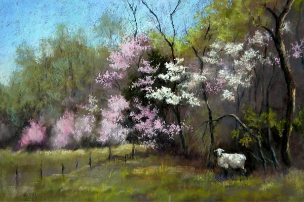 Appalachian Spring, From an Original Oil Painting