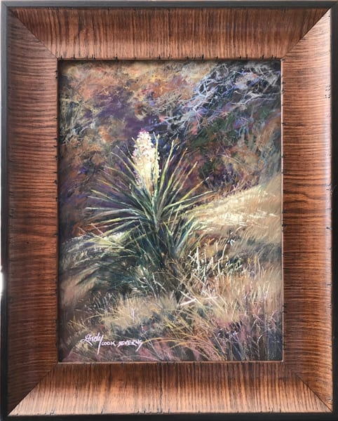 Lindy Cook Severns Art | A Texas Nosegay, original pastel