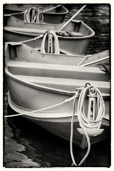 Three Boats by Jeremy Simonson