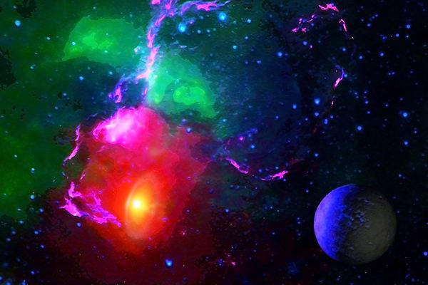 Space Fantasy Art - Nova Aftermath - Don White Art Dreamer