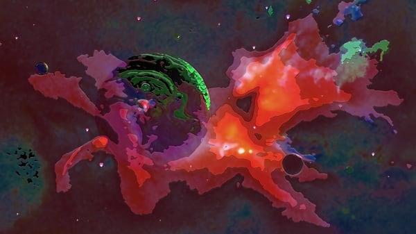 Space Fantasy Art - Cloud Planet - Don White Art Dreamer