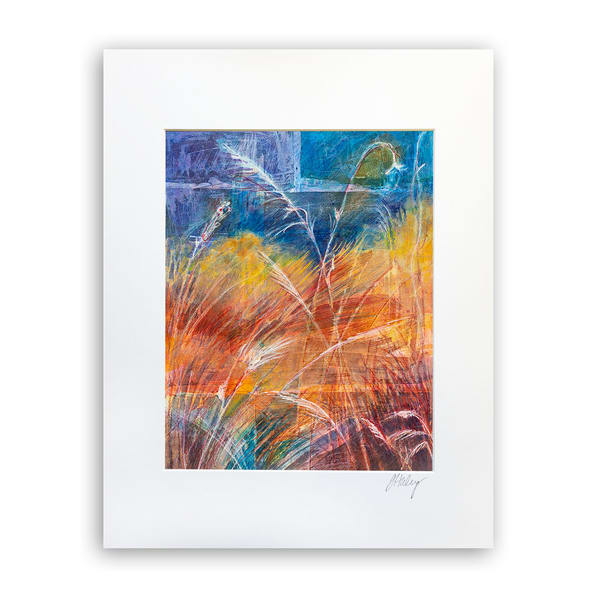 Changing Seasons   8x10 Matted Print   Terrie Haley Artist
