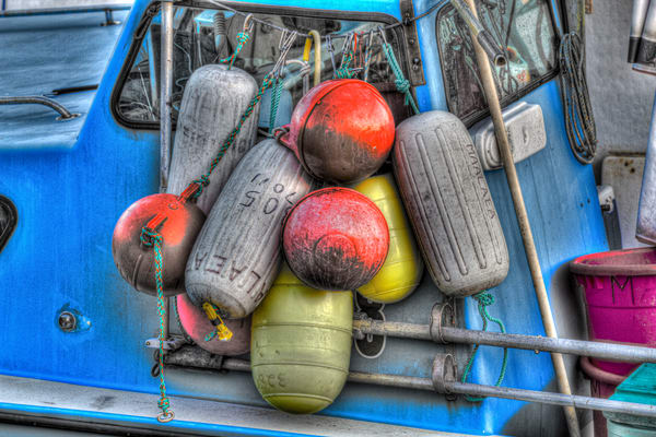 Boat Bumpers Photography Art | Michael Scott Adams Photography