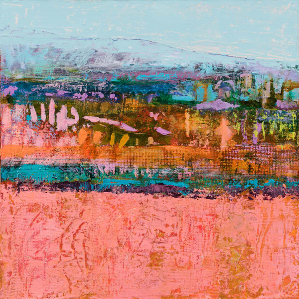 Bright Colored Southwestern Landscape Original Painting