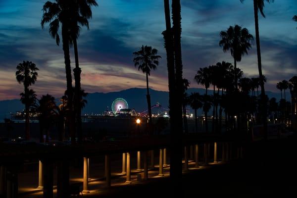 Santa Monica Twilight Photography Art | Michael Scott Adams Photography