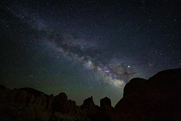 Milky Way Over Joshua Tree 1 Photography Art | Michael Scott Adams Photography