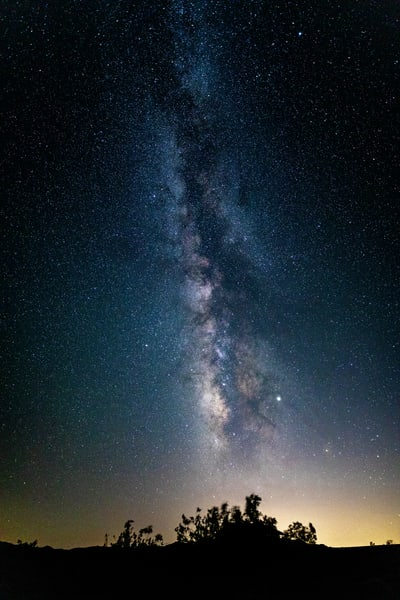 Milky Way Over Joshua Tree 2 Photography Art | Michael Scott Adams Photography