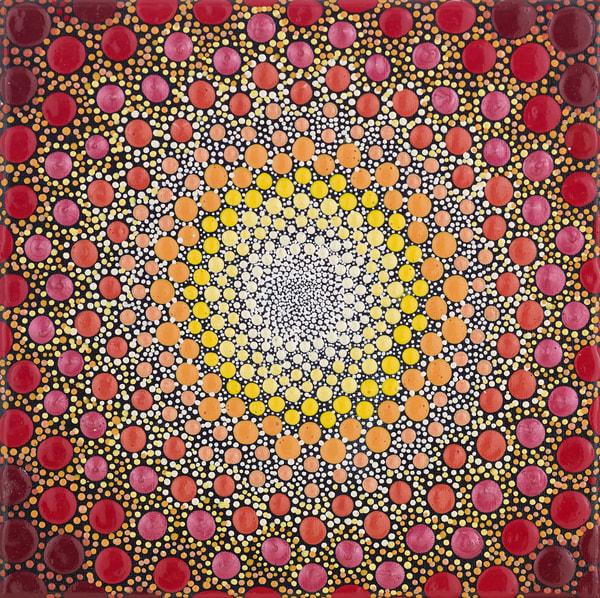 Sunflower Burst Glossy Painting