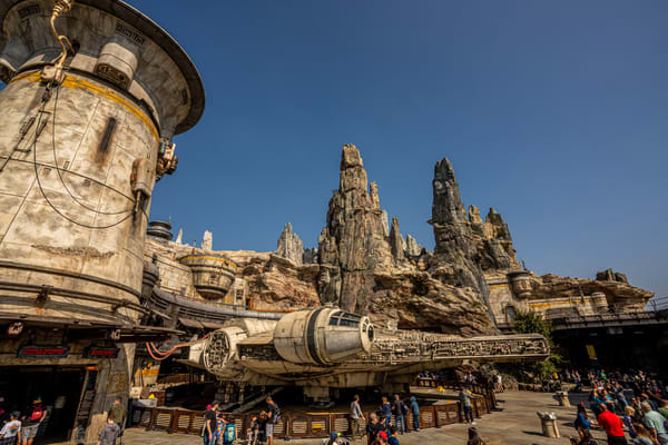 Millennium Falcon At Disneyland Photography Art | William Drew Photography