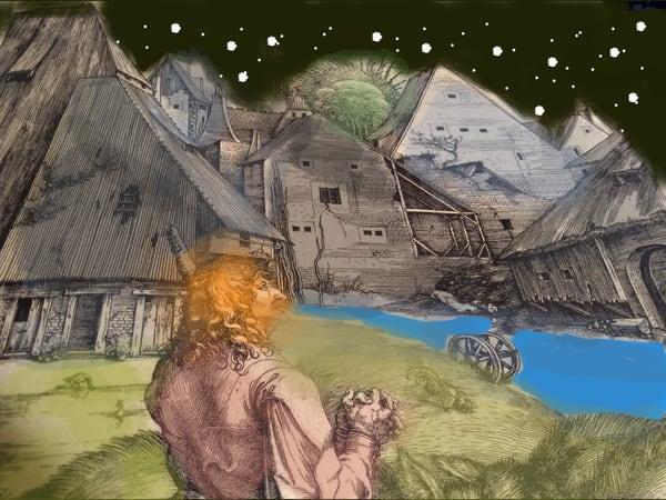 Medieval Mystery Art | stephengerstman