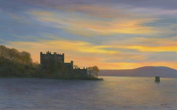 prints, bannerman's-island, bannerman's-castle, hudson-river, sunset-hudson-river, pollepel-island,