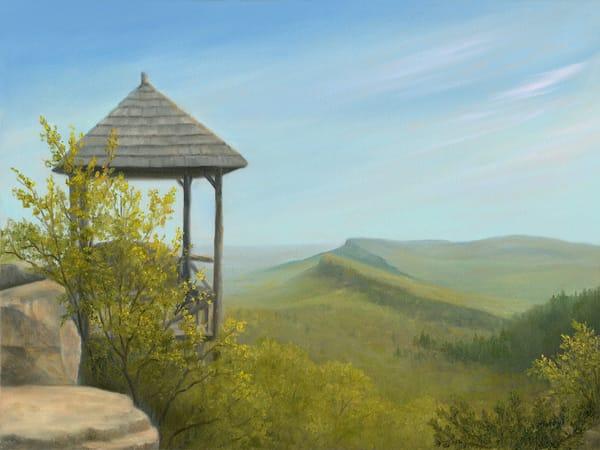 mohonk-gazebo, mohonk-view, mohonk-paintings, shawangunk-mountains, gunks