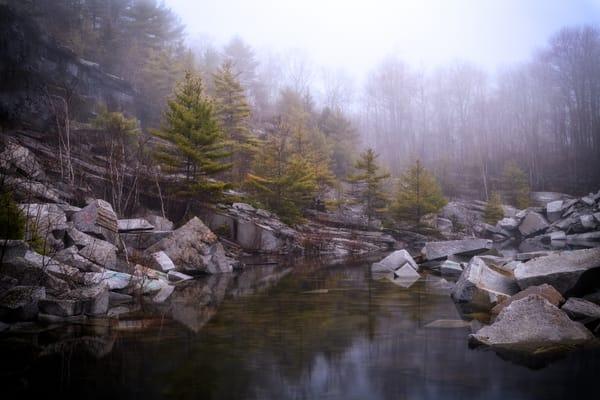 Misty Morning at Mount Waldo | Shop Photography by Rick Berk