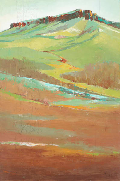 Wordless Wild, original landscape painting by Sarah B Hansen