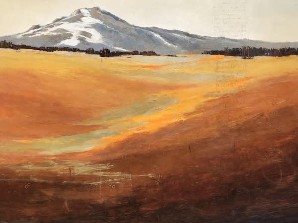 Nourish, original landscape by Sarah B Hansen
