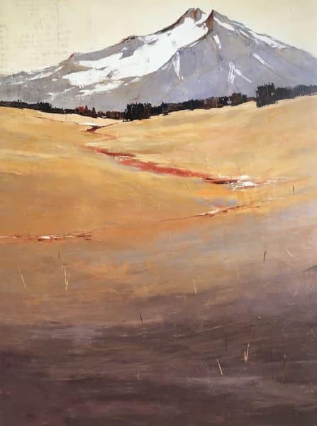 Exhilaration of Spirit, original landscape painting by Sarah B Hansen